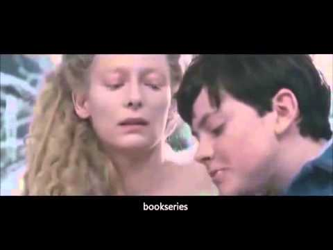 The chronicles of narnia the lion the witch and the wardrobe -Edmund meets the White Witch Scene