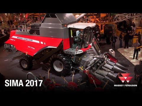 Massey Ferguson Harvesting - SIMA 2017