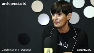 IMM Cologne 2018 | SCHÖNBUCH - Carolin Sangha talks about Tally, Dots Stone and View