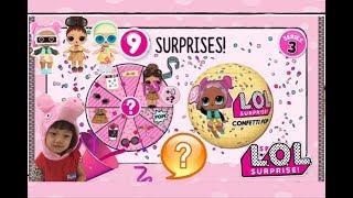 LOL驚喜寶貝蛋第三季新娃娃九層驚喜除了噴淚吐吐小解變色還會....?u0026拉炮噴紙片 LOL surprise confetti pop ????