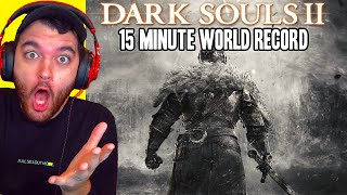 "WORLD RECORD ""DARK SOULS 2"" ANY% SPEEDRUN... WTF!!!"