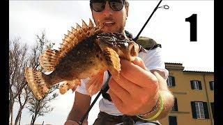 Light Rock Fishing nel Tirreno: i colori del Mediterraneo! - Toscana PART 1