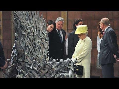 Queen tours Game Of Thrones set in Belfast