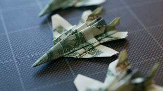 Dollar Origami F-18: Take 2 (full Video)