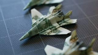Dollar Origami F-18: Take 2 (full Video)