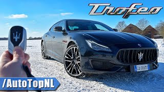 Maserati Quattroporte Trofeo V8 REVIEW on AUTOBAHN [NO SPEED LIMIT] by AutoTopNL