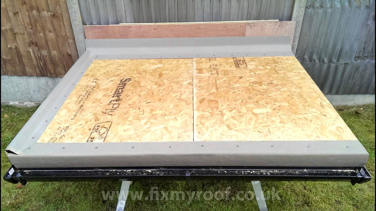 Part 2 Fibreglass Roof Trims Cut And Fit Grp Edges Youtube