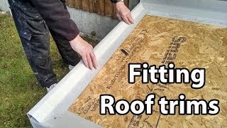 Part 2 Fibreglass Roof Trims - Cut and Fit GRP Edges