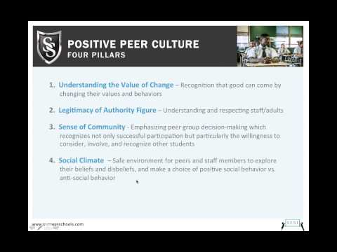 Positive Peer Culture:  A Game Changer for At-Risk Students 4-9-13 12.00 PM
