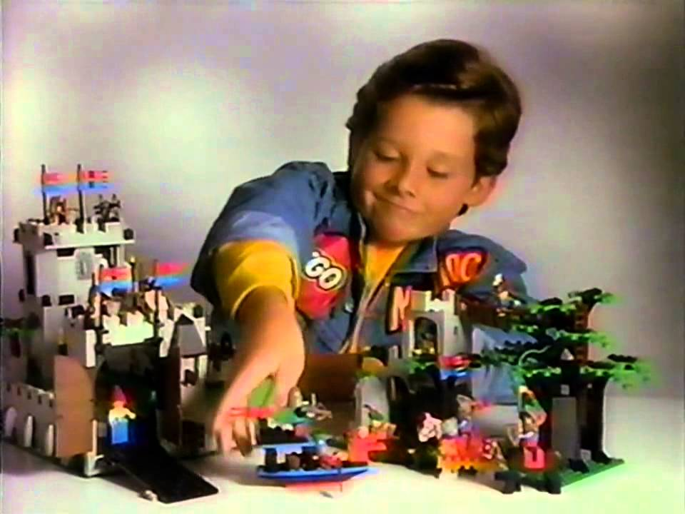 Lego Castle 1990 Commercial Youtube