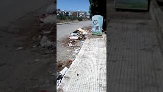 Ripulisce via Dell'Andro, multato cittadino ruvese