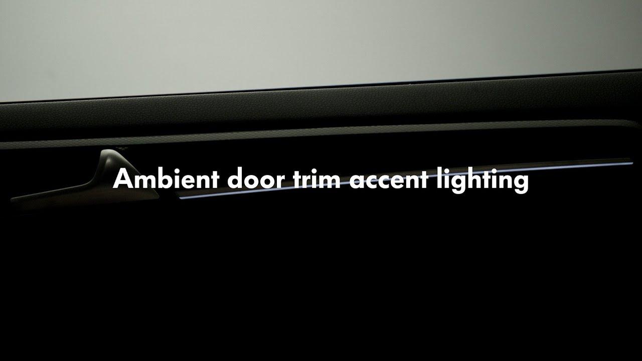 2015 volkswagen golf ambient door trim accent lighting accent ambient lighting