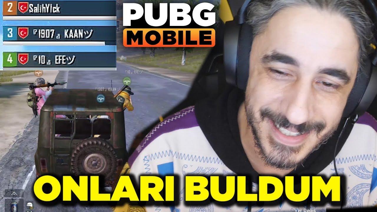 GEÇEN VİDEODA VURDUĞUM TAKIMI BULDUM - PUBG Mobile