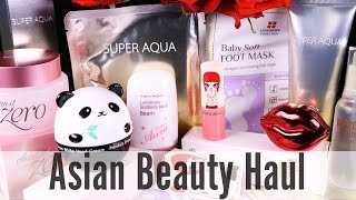 ASIAN MAKEUP & BEAUTY HAUL