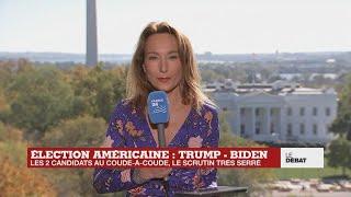 Élection américaine : Trump - Biden, les deux candidats au coude-à-coude