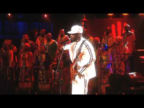 "Wyclef Jean performs ""Million Voices"" at Mandela Day 2009 from Radio City Music Hall"