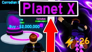 FLYING To THE HIGHEST *MYSTERY PLANET X* IN ROBLOX JETPACK SIMULATOR (SECRET ORES & RAREST PETS!)