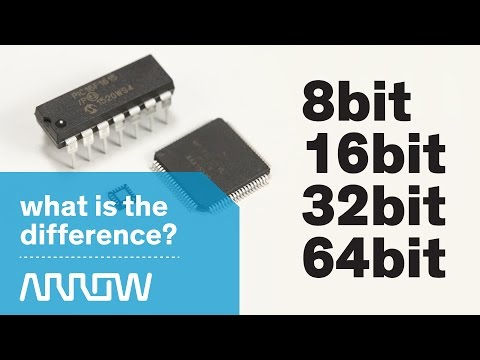 Understanding the differences between 8bit, 16bit, 32bit, and 64bit -- Arrow Tech Trivia