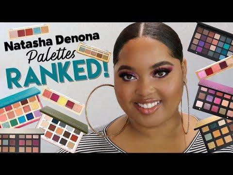 Natasha Denona Palettes RANKED! | Least to Most FAVORITE!