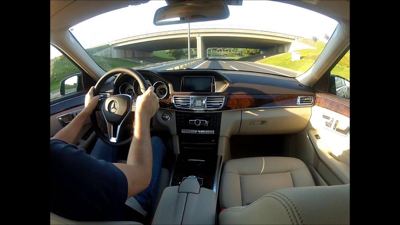 mercedes-benz e 180 sürüş izlenimi - test - youtube