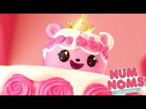 Num Noms - Princess Buttercream, Duchess of Cake | Num Noms Snackables | Cartoons for Children