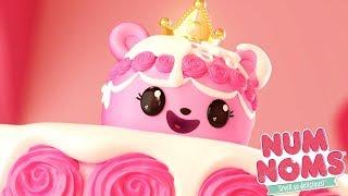 Num Noms - Princess Buttercream, Duchess of Cake   Num Noms Snackables   Cartoons for Children