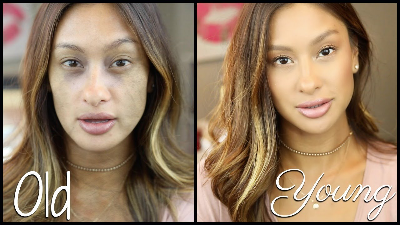 HOW TO LOOK YOUNGER WITH MAKEUP  BEAUTY TIPS!