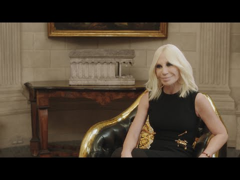 Face to Face: Donatella Versace   NET-A-PORTER