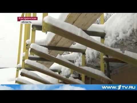 Восстановление моста в Шарье (1 Канал)