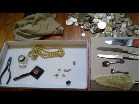 Silverpicker's HUGE Garage Sale Haul! Scrap Silver & Gold, Silver Coins Galore! #16 (Part 1)