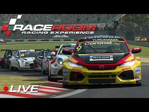 RaceRoom WTCR esports Div 1 Round 5 - Suzuka | Live