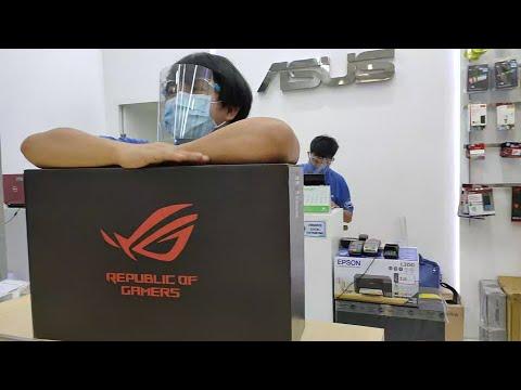 ROG STRIX G17 G712LU-H7070T INTEL CORE i7-10750H, 8GB 2933MHz, 512GB SSD NVMe, NVIDIA GTX1660Ti 6GB