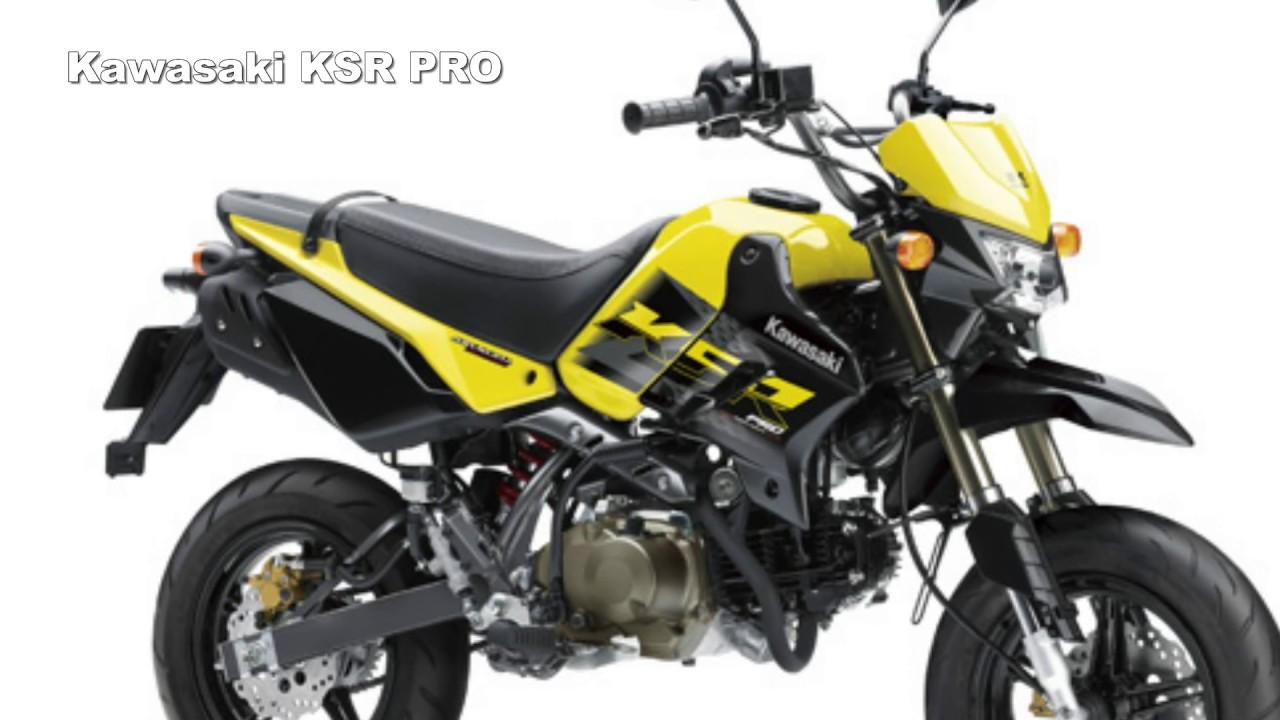2017 Kawasaki KSR PRO : More Rider Control For Greater