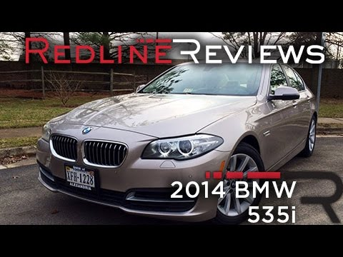 2014 BMW 535i Review, Walkaround, Exhaust, & Test Drive
