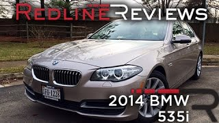 2014 BMW 535i Review, Walkaround, Exhaust, & Test Drive