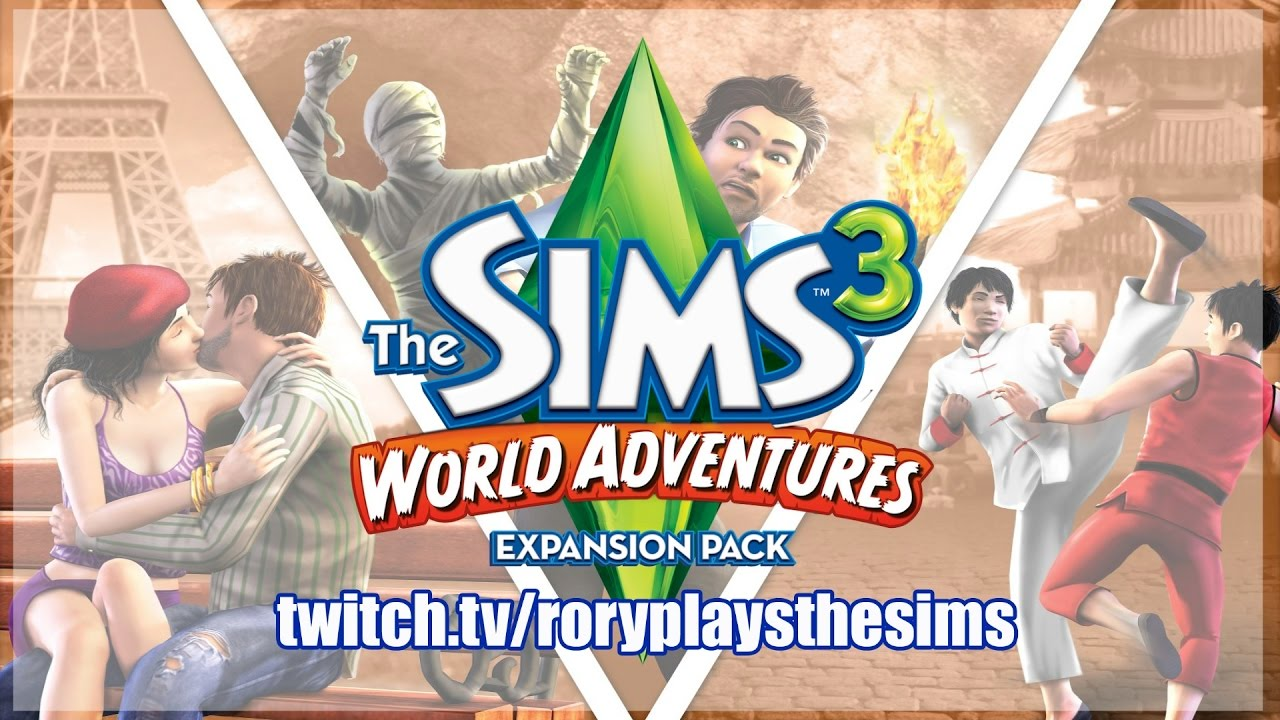 the sims 3 world adventures twitch live stream p3. Black Bedroom Furniture Sets. Home Design Ideas