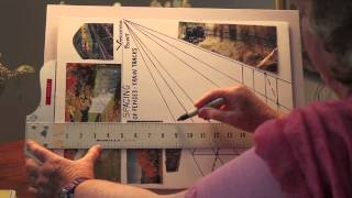 Paint Spacing of Fence and Railroad Tracks-with Marge Kinney