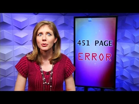 Error 451: The new code for a censored website