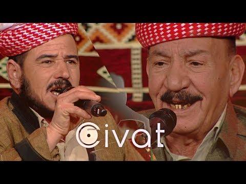 Bernamê Civat - Sitranbêj  Xelef Ilyas û Feqîr Mistê  WAAR TV