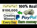 Dollar earnings apps real earn money PayPal New world app unlimited cash kamaey