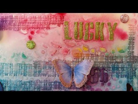 Art Journal Page #12 Lucky Art