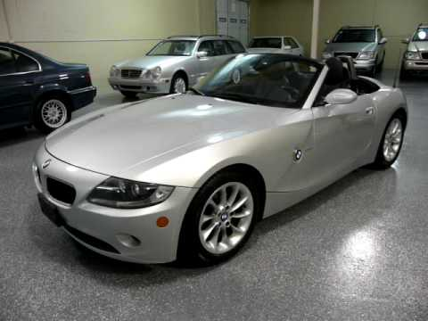 2005 Bmw Z4 2 5 Convertible 1880 Sold Youtube