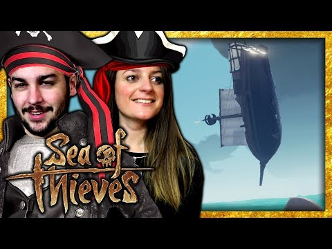 UN BATEAU VOLANT ! | SEA OF THIEVES COOP FR