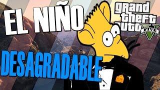 TROLLEANDO AL NIÑO MÁS ANTIPATICO DE GTA V ONLINE #175