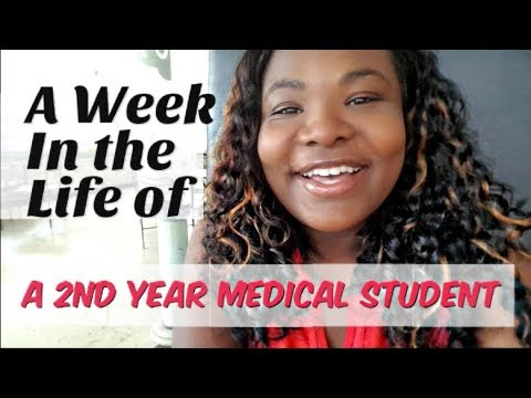 A WEEK IN MED SCHOOL: 2nd year medical student in Cuba | Cardiology and immunology