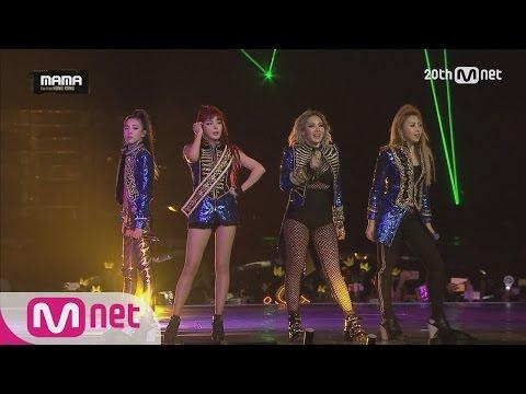 [2NE1-Fire + I AM THE BEST] KPOP Concert MAMA 2015 | EP.2