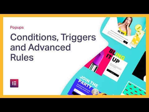 Popup: Conditions, Triggers, and Advanced Rules