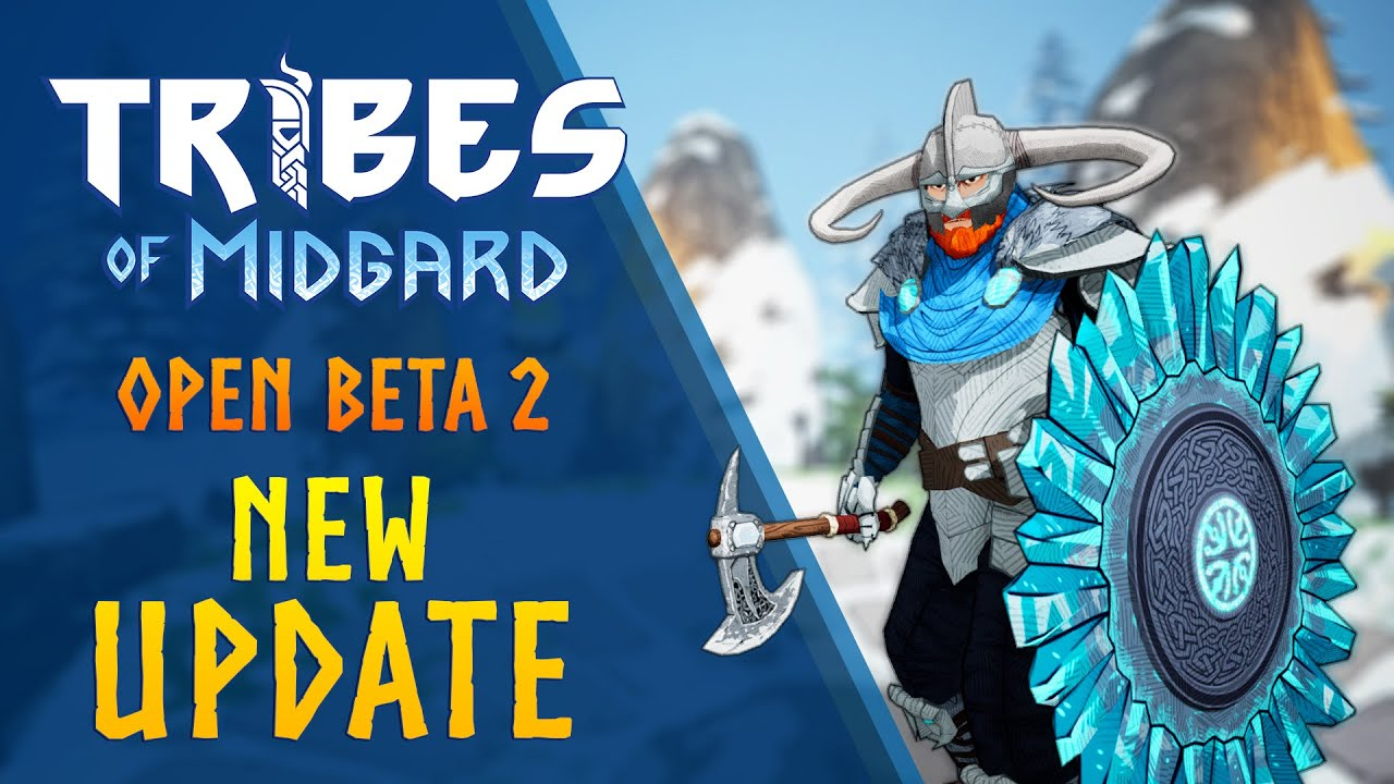 Co-op Survival RPG Tribes of Midgard PC Open Beta Sept  5-9