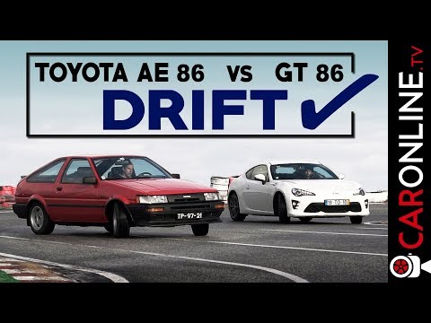DRIFT MODE: ON | TOYOTA AE86 vs GT86 [Review Portugal]