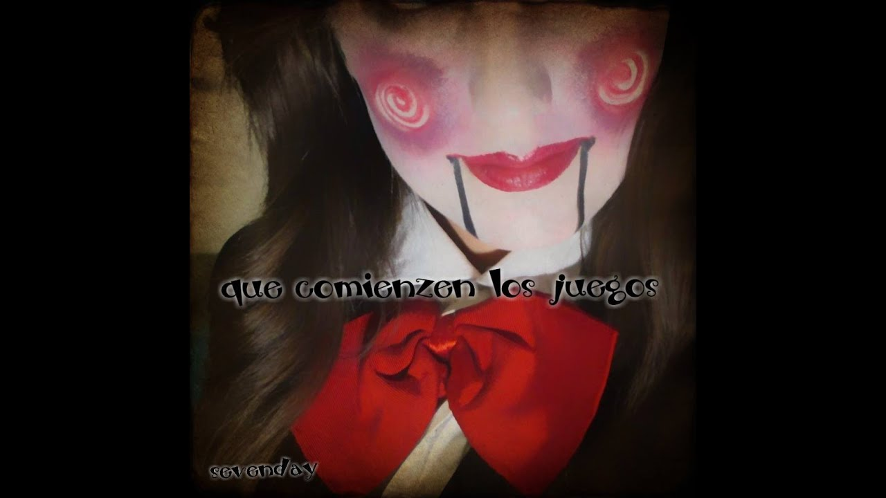 Saw Maquillaje Juegos Macabros Especial Halloween Sevenday Youtube